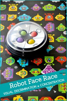 Robot Face Race is a fun learning game for family game night --LOVE this!