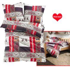 """Lenjerie de pat de Craciun """"Santa"""" - http://www.outlet-copii.com/outlet-copii/magazine-copii/lenjerie-de-pat-de-craciun-santa/ - Lenjerie de pat """"Santa"""", 2-piese din finet, cu un model imprimat si un motiv frumos. Cearsafuri disponibile în varianta normala sau în varianta de garnitura cu patru piese.  Cumpara din magazin Bonprix lenjeria de pat pentru Craciun Santa"""