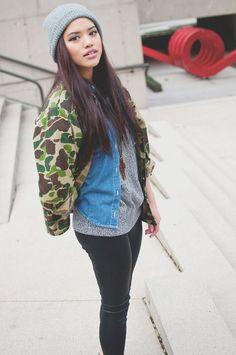 #girls #streetwear  || AcquireGarms.com
