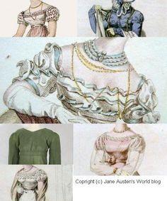 Regency necklines