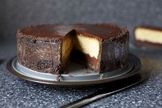 Chocolate Peanut Butter Cheesecake by Smitten, via Flickr