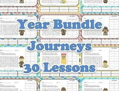 1st Grade Vocabulary - Complete Bundle of all 30 Journeys Lessons