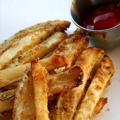 Oven Baked Parmesan Seasoned Fries Recipe | Key Ingredient