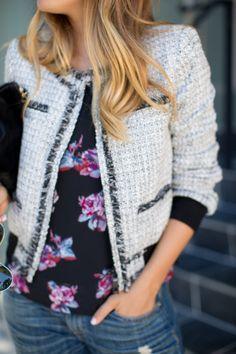 Floral & Tweed