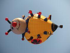 """""""Lady Joker"""" - Albuquerque Int'l Balloon Fiesta 2010"""