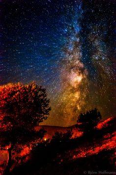 Exploding Galaxy by Björn Hoffmann on 500px