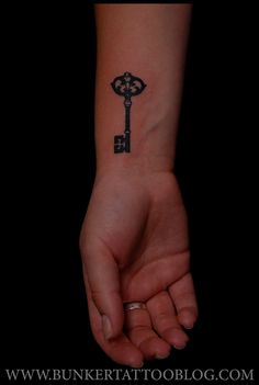 Key tattoo