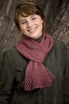 Lacy Cables Scarf - Media - Crochet Me