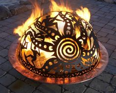 Love this portable fire dome!