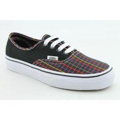 Vans Unisex VANS AUTHENTIC (RAINBOW PLAID) SKATE « Shoe Adds for your Closet