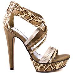 Heels I Love #heels #summer #high_heels #color #love Michael Antonio    Tochi - Tan Satin Rep Pu