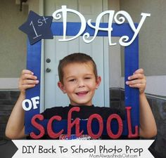First Day of School Photo Prop by @Nicole Novembrino #Michaelsbts