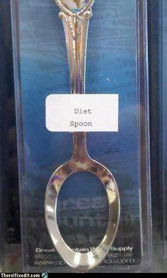 Diet Spoon... hahah thats brilliant