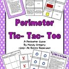 This is a math game that uses the tic-tac-toe format to practice perimeter word problems.   Students will practice finding the perimeter of a given...