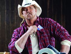 Trace Adkins!.. amazing voice and easy on the eyes!