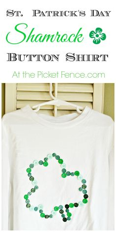 Easy and fun idea for St. Patrick's Day!