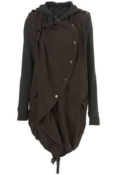 Jersey parka jacket. $135 [wood elf attire]