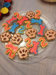 Paw Patrol Birthday Cookies