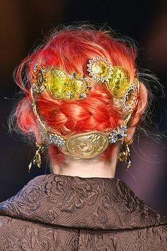 Dolce Gabbana SS2014 #orange