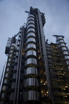 Lloyd's building, London, UK  -  55 Strange Buildings of the World | Amazing Data