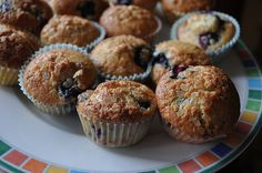 Best Ever GF Blueberry Muffins