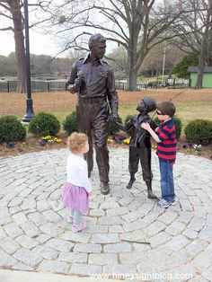 Pullen Park - Raleigh, NC. A tribute to Andy Griffith Show.
