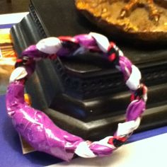Duck-tape bracelet