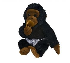 Cuddle Babies Gorilla Plush at theBIGzoo.com, a toy store featuring 3,000+ stuffed animals.