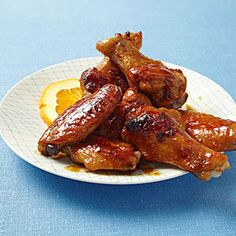 Sweet and Sticky Sesame-Honey Wings