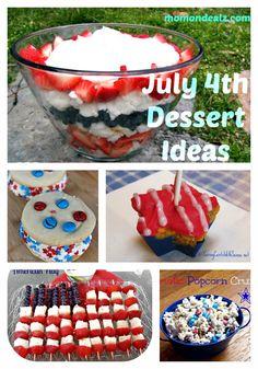July 4th Dessert Ideas