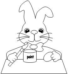 Easter Coloring Page from Making Learning Fun