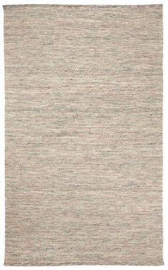 Naples rug in Multi looks great in a kitchen! The neutral colorway works with a variety of kitchen styles! #CapelRugs