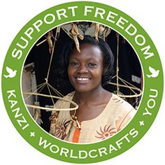 @WorldCrafts Support Freedom Stories {Kanzi ~ East Africa} Kanzi offers handmade, fair-trade jewelry and crafts from artisans across East Africa. Not only does Kanzi help develop a market for these artisans, it also donates a portion of sales to support orphans and children at risk of exploitation in Uganda, enabling them to get much needed food, clothing, shelter, education, and spiritual care. #WCArtisans #fairtrade #supportfreedom