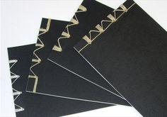 expanded versions of classic Japanese binding using multiple passes by Richmond Custom Bindery