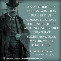 """A Catholic is..."""