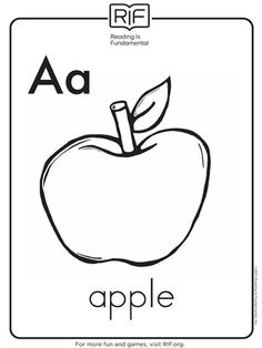 Download free alphabet printable coloring sheets for your kids. They're educational and fun! http://www.parents.com/toddlers-preschoolers/printables/coloring-pages/alphabet-coloring-pages/?socsrc=pmmpin130221cpAlphabetColoringPages