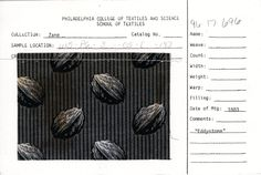 Walnut print on cotton    Eddystone    1883