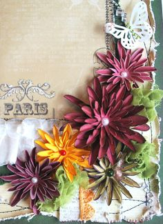 Forums / Flower Tutorials / Moms Flower Tutorial - Swirlydoos Monthly Scrapbook Kit Club