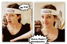 Ninja Party Headbands