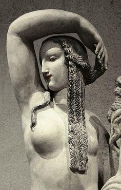 "Detail of ""Spring"" Alfred-Auguste Janniot, after 1919. Limestone. Lisbon: Museu Calouste Gulbenkian"
