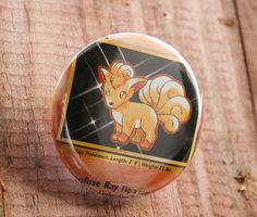 Pokemon Card Buttons by JacksonWestermeyer on Etsy, $4.00