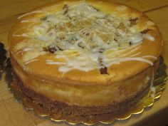 Dutch Apple Cheesecake Recipe