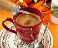 This paleo coffee creamer recipe can be kept in the fridge to instantly make fancy coffee drinks.