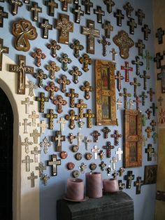 collection of crosses, wow.