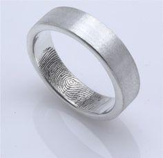 Her Fingerprint in His Wedding Band...Awe