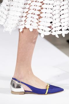 #OscardelaRenta  #spring2014 #shoes #HighHeels #flats #sandals #courtshoes #Boots #platforms #sneakers #wedges #flats