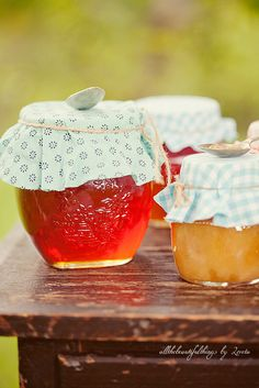 Old Fashioned homemade jams