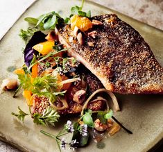 Rice-Seared Trout with Hazelnut Brown Butter