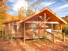 Turkey Feathers, an all wood construction cabin, is located only 1/2 mile off the highway between Gatlinburg, Pigeon Forge and the National Park. Enjoy the best of both worlds, a perfect place to relax and getaway, but close to all the action and adventure the Great Smoky Mountains has to offer!  This lovely one bedroom cabin has a master suite, great room, and a glass game room in the trees. Plus a private outdoor hot tub on covered porch.