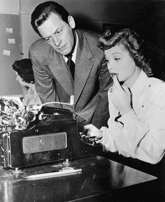 Lucille Ball and William Holden Miss Grant Takes Richmond, 1949